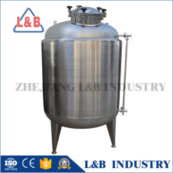 Les réservoirs de stockage en acier inoxydable vertical