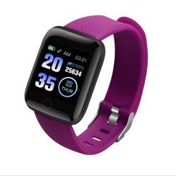 Più basso del braccialetto astuto di sport di Digitahi dell'orologio di USD5/PCS Bluetooth come regali promozionali per il compleanno/il natale/promozione/azienda/cooperano/116plu personalizzati
