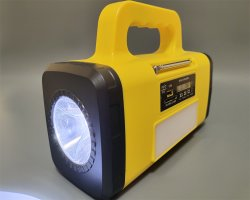 LED 토치가 있는 태양열 충전식 AM FM 라디오 음악 Dynamo 다기능 태양광 라디오