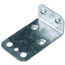 مشبك لوحة سور معدنية من طراز U قابل للضبط مع مجلفن مخصص