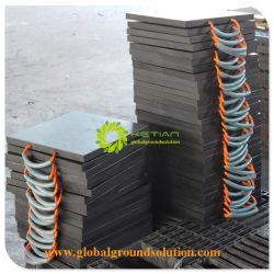 Влага и устойчив к химическим RV Utility блоки / HDPE Outrigger башмак для погрузчика