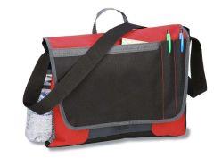 Messenger Bag mit Flaschenhalter mit Messenger Ball Pen Sh-16051038