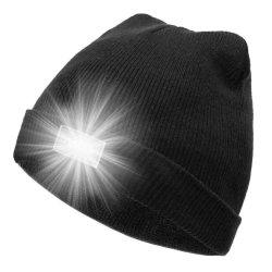 Protezione del cappello del Beanie dei 5 del LED uomini della torcia elettrica per funzionare, cacciare, accampantesi