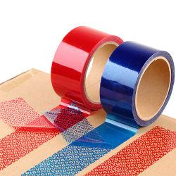 50mm Carton de sécurité Inviolable bande adhésive de scellage
