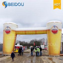 Riesige bekanntmachende Luft-Ballon-Bier-aufblasbare Bogen-Produkt-Replik-Modelle