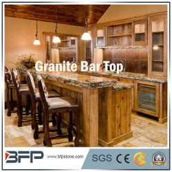 Pfirsich-Rosa-natürlicher Stein des Granit-G687 für KücheCountertop mit Stab-Oberseite