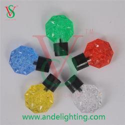 Bille de chaîne de lumière décoration lumière cristalline