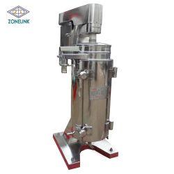 L'extraction de l'huile de noix de Coco Vierge tubulaire du séparateur centrifuge
