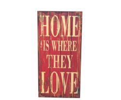 Comercio al por mayor impresas antiguas decoraciones de pared con las cartas de amor