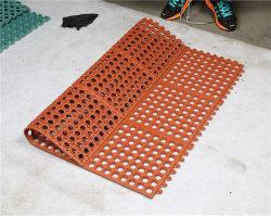 Resistência à Compressão Anti-Fatigue Anel de borracha SBR Tapete do Piso de borracha do colchão para protecção de grama