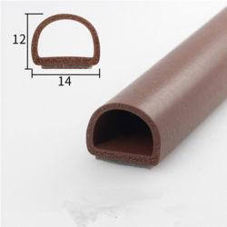 Schaumgummi-Schwamm-Silikon-Gummi-Dichtungs-Streifen für Aluminiumlegierung-Fenster