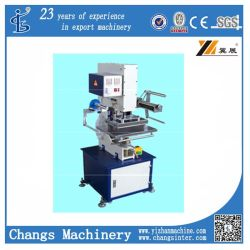 Stj-9 pneumatische het In reliëf maken van het Leer van de Stempelmachine van de Folie Machine