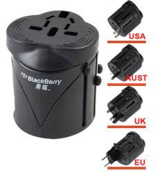 Глобальный универсальный адаптер для поездок с помощью зарядного устройства USB