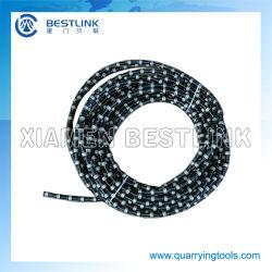 Accessoires de machine scie Diamond Wire Rope pour exploitation de carrières de marbre