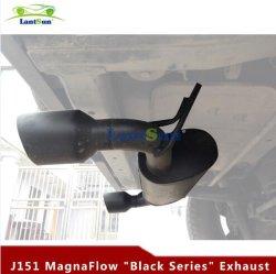 عادم من السلسلة Magnaflow باللون الأسود لسيارة Jeep Wrangler JK