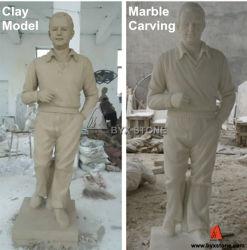 庭Ornamentのための自然なGranite Carved Stone Sculpture