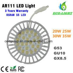 UL ETL SAA Ce драйвер AC100-277V 35Вт Лампа Osram S5 привело AR111 светодиодные лампы с внешний драйвер