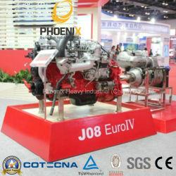 محرك P11c J08e Euro4 Hino مع إمداد قطع غيار المحرك