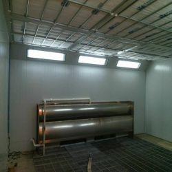 Meubles de cabine de pulvérisation de peinture pour meubles en bois et les pièces métalliques