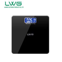 Casa de banho em vidro Escala de peso corporal digital
