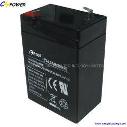 Zure AGM van het Lood van de Batterij van Cspower 6V4.5ah Verzegelde Batterij voor Veiligheid en Alarm versus Leoch
