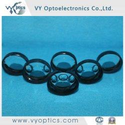 Schwärzendes Rand-optisches Glas-Doppelt-konkaves kugelförmiges Objektiv