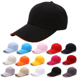 Votre logo personnalisé de haute qualité Sport Cap Cotton Hat Casquette de baseball