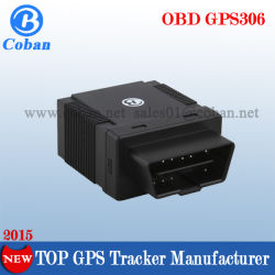 OBD II Tracker GPS 306 con il SOS, Internal GSM/GPS Antenna OBD2 SIM Card GPS Tracker con Diagnostic Function Fuel Level Monitor