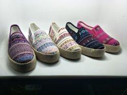 Pantshoes 특별한 엘리베이터 신발 여자 화포 Kint 단화
