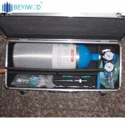 Étui de rangement en aluminium haute qualité du matériel médical Cas d'aide d'abord