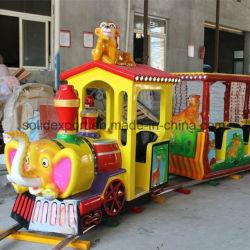 Мини-контакт поезд увеселительный парк аттракционов поезда