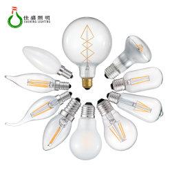 مصابيح LED R80 LED قابلة للتخفيت بقوة 3.5 واط و6 واط 8 واط قابلة للإضاءة من مصابيح الفيشمع الياقوت الأزرق الياقوت الأزرق المصابيح