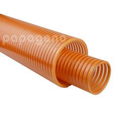 非波形を付けられたねじれPVC螺旋形ダクト管