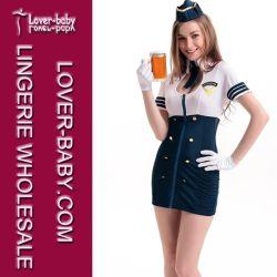 Pilot Fancy Adult Costume voor meisjes (L15211)