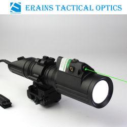 تكتيكيّ محترفة صيد بندقية 1000 تجويف صغير [كر] [ت6] [لد] مع ستروب ضوء يربط مع خضراء ليزر جهاز تسديد مشعل ضوء