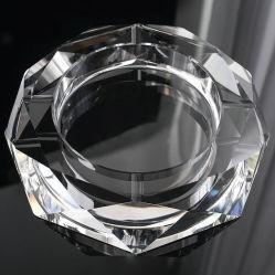 Круглые стекла Crystal сигарный пепельницу для отеля стиле (KS13031)