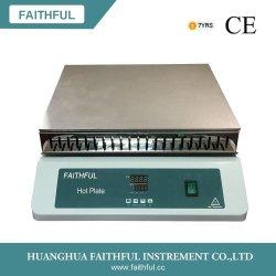 LEDデジタルのHotplateまたは実験装置か高温Hotplate