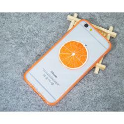 도매 휴대폰 액세서리 TPU+ 아크릴 과일 케이스 휴대폰 iPhone 4/5/6/6Plus용 커버