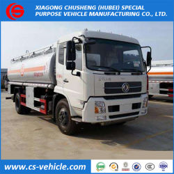 Dongfeng Rhd/LHD 5000-25000L aceite combustible pesado camión cisterna