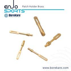 Accessoires de nettoyage des armes à feu Borekare détenteur de Patch pour le pistolet en laiton