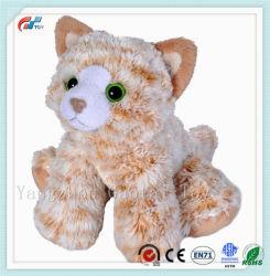 Fluffy Tiger Stripe lindo gato suave Peluche juguete