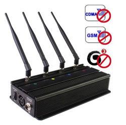 4 antennes 3G signal brouilleur bloqueur de cellulaire