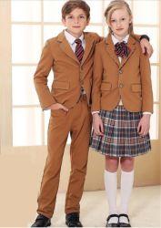 Factory Outlet Shirt&manteau pour les enfants nouvelle mode uniforme scolaire