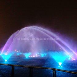 Fonction de l'eau à grande échelle de la musique de danse Fontaine Fontaine Rainbow de buse