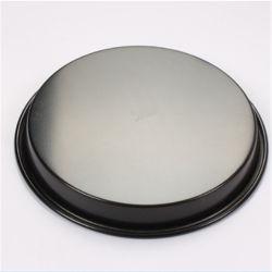 食品等級円形の焦げ付き防止アルミニウムピザ鍋