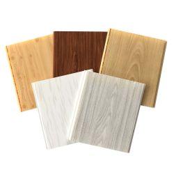 2020 Grain moderne en bois Panneau de plafond en PVC pour la décoration