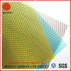 Quanfu Polycarbonate Twinwall Hollow PC Sheets for Greenhouse(취푸 폴리카보