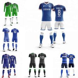 De Voetbal van de Club van de douane plaatst de Hete Uniformen van de Sport van de Voetbal van de Uitrustingen van de Opleiding van het Voetbal van Jerseys van de Voetbal van het Team