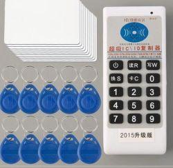 125kHz 13.56MHz手持ち型RFID ID ICのカードのコピアーの読取装置か著者複写器プログラマー