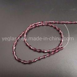De kleurrijke Parels Bicone van het Glas van het Kristal Lange voor het Maken van juwelen